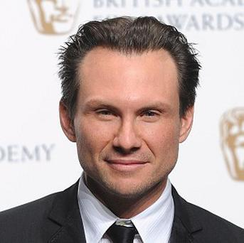 Christian Slater might play an Elvis wannabe on the big screen