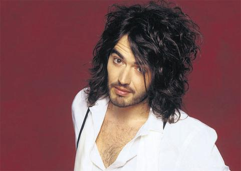 HAIRS AND GRACES: Russell Brand says he has changed his lothario ways thanks to girlfriend Katy Perry.
