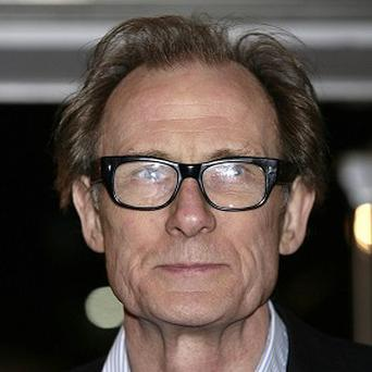 Bill Nighy found the kissing scene quite funny