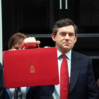 Mr Brown had a new budget bag made by young craftsmen, but his successor, Alistair Darling, returned to the original