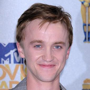 Tom Felton wanted a Harry Potter tattoo