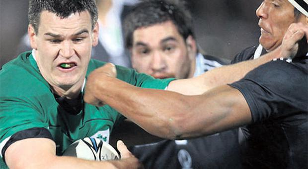 Despite missing his final penalty, Johnathan Sexton did enough to edge out Ronan O'Gara for next week's Australia Test