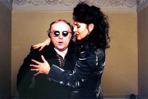 Van Morrison and Michelle Rocca