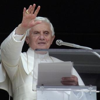 A priest has developed an Mass app for the iPad. Pope Benedict XVI, pictured, has sought to reach out to the younger generation