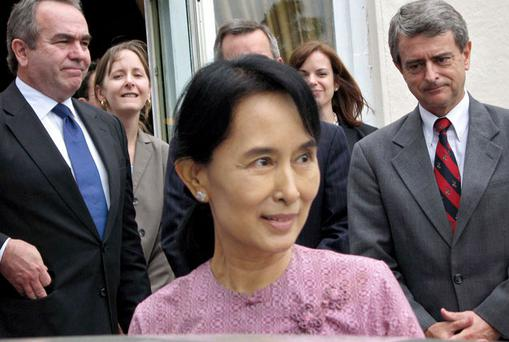 Aung San Suu Kyi. Photo: Getty Images