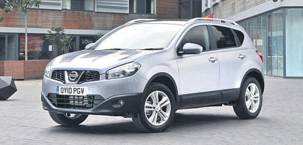 LIFESAVER: The Nissan Qashqai, above, will soon be joined by its baby sister, the Juke