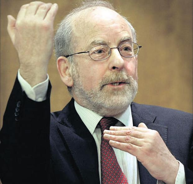 Central Bank governor Patrick Honohan (pictured) and Patrick Neary, who are both criticised by the Financial Services Consumer Panel.