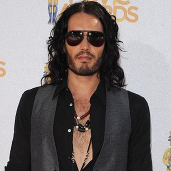 Russell Brand tells of 'really good' kissing scenes