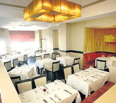 Two Dublin restaurants on one day: Paolo had his lunch in Diwali on South Great Georges St, and his dinner in Dali's (pictured) of Blackrock.