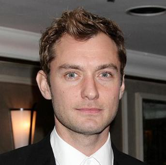 Jude Law has been named the hottest film dad
