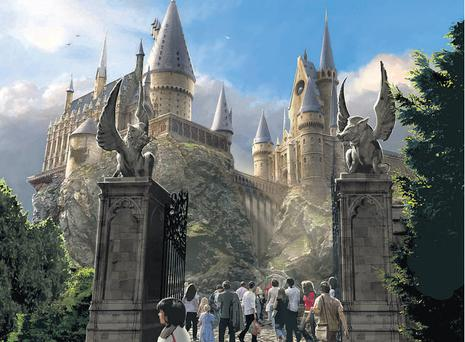 Potter battle: The Wizarding World of Harry Potter at Universal Studios, Florida
