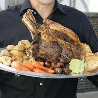Men find it more difficult to darn a hole than to cook a roast dinner, survey suggests