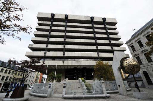 The Central Bank in Dublin. Photo: Bloomberg News