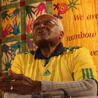 Archbishop Desmond Tutu has become the latest critic of England's poor World Cup performance
