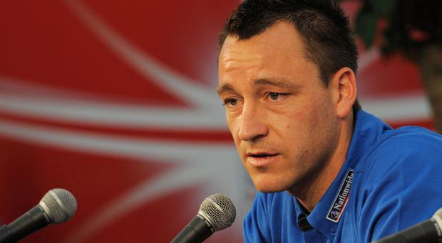 John Terry apologised after comments made at a press conference. Photo: Getty Images