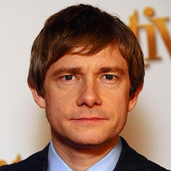 Martin Freeman plays hitman Dixon in Wild Target