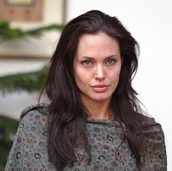 Angelina Jolie visited Haiti for meetings with Haitian and UN officials