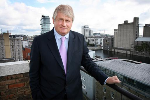Businessman Denis O'Brien acquired over six million shares in Independent News & Media yesterday