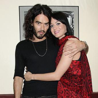 Russell Brand and Katy Perry apparently want to get married wearing latex