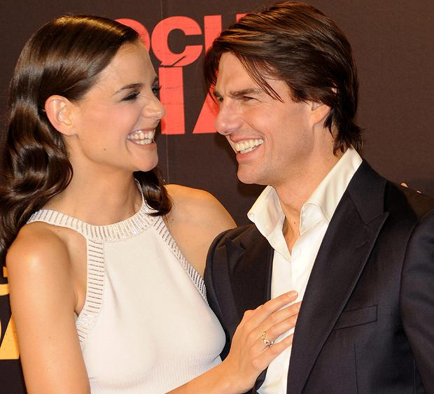 Katie Holmes and Tom Cruise. Photo: Getty Images