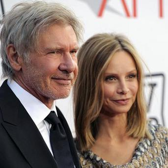 Harrison Ford went back to filming after his marriage to Calista Flockhart
