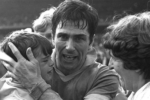 Dermot Earley pictured with his son David after Roscommon beat Armagh in the 1980 All-Ireland football semi-final at Croke Park. The late Roscommon midfielder has been named on the 'Stars of the '80s' team to be honoured.