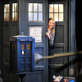 The Tardis sold for more than 10,000 pounds