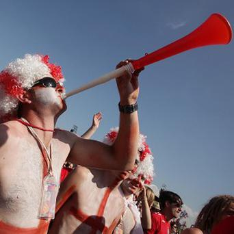 A group is aiming to get a single starring vuvuzela horns into the charts