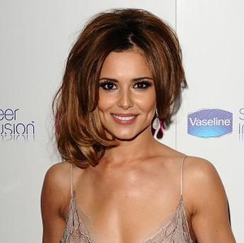 Cheryl Cole was ribbed by her fellow judges