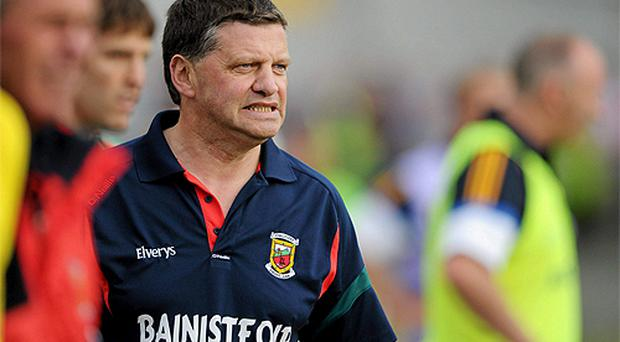 Mayo manager John O'Mahony who stepped down after Mayo's defeat to Longford. Photo: Sportsfile