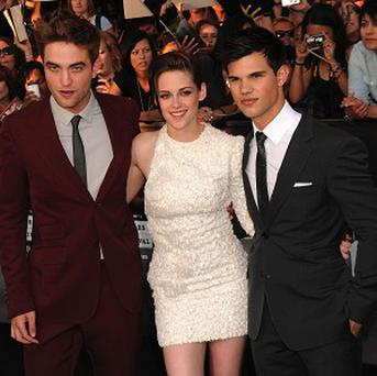 Robert Pattinson, Kristen Stewart and Taylor Lautner attended the Eclipse premiere