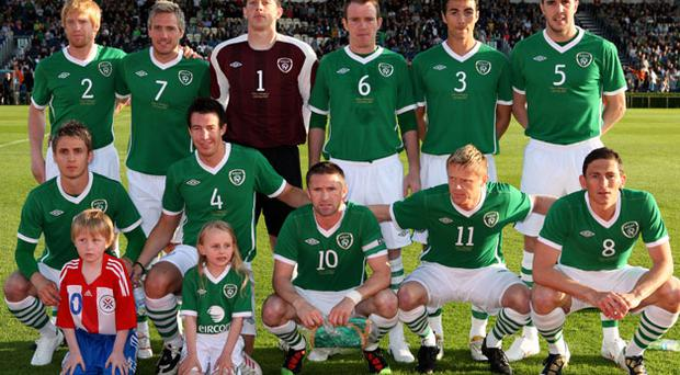The Irish team will face Norway in a friendly. Photo: Getty Images