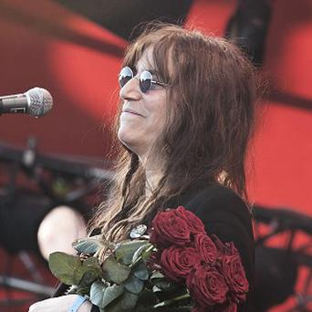 Patti Smith led a tribute to the nine people who died