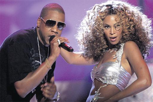 Bling: Retailers are hoping that Beyonce will accompany husband Jay-Z to Dublin when he flies in to headline at the three-day Oxegen music festival