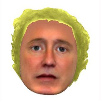 Hampshire Police e-fit of a burglary suspect being hunted in Stockbridge