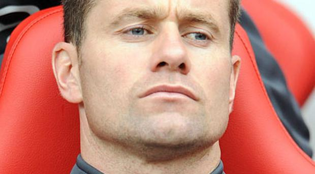 Shay Given will have a break from his usual spot on the bench when he makes his first start of the season in tonight's Carling Cup game against West Brom. Photo: PA