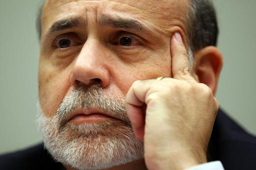 Federal Reserve chief Ben Bernanke. Photo: Getty Images