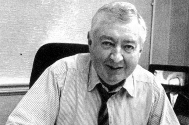 Vinnie Doyle, pictured at his desk, was the personification of the traditional, hands-on editor