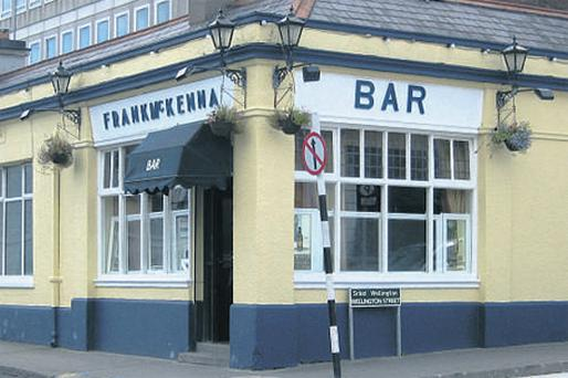 On the market: McKenna's pub, which is located on Wellington Street and George's Place and is close to St Michael's Hospital, is for sale quoting €1m
