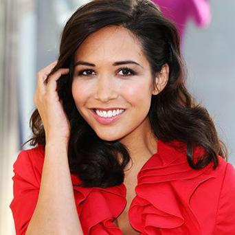 Myleene Klass announced news of her pregnancy on Twitter