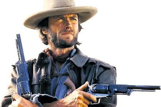 Cast aside: Clint Eastwood was slated to play Rambo, Bond and John McClane in Die Hard
