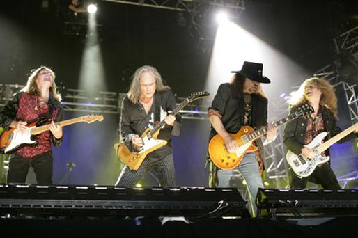 Lynyrd Skynyrd performing at the 2006 CMA Music Festival. Photo: Getty Images