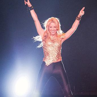 Shakira performed at Madison Square Garden in New York