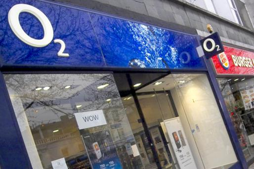 O2: marketing services competition. Photo: Bloomberg News
