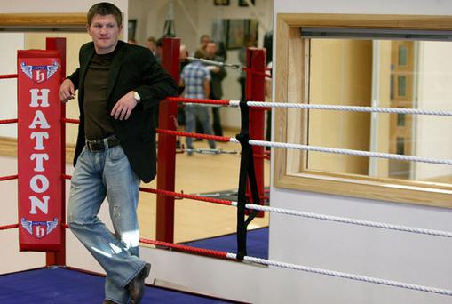 Ricky Hatton. Photo: PA