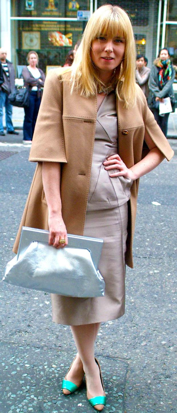 Fashion journalist Deirdre Morrissey & photographer Rory Moran snapped what was hot on the streets during London Fashion Week. www.i-d-j.com <br/> Roisin Murphy – Irish singer, song-writer and record producer tones down her style for once!