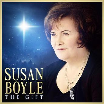 Susan Boyles's new album cover, The Gift