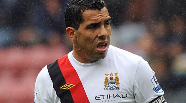 Carlos Tevez Photo: PA