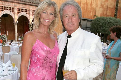 Maurice Boland and Wendy, his wife of nearly 40 years, both left, are glamorous fixtures on Marbella's Irish expat scene