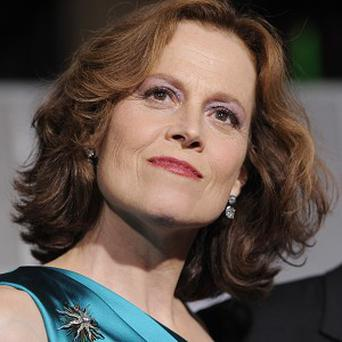 Sigourney Weaver says her acting background is in comedy